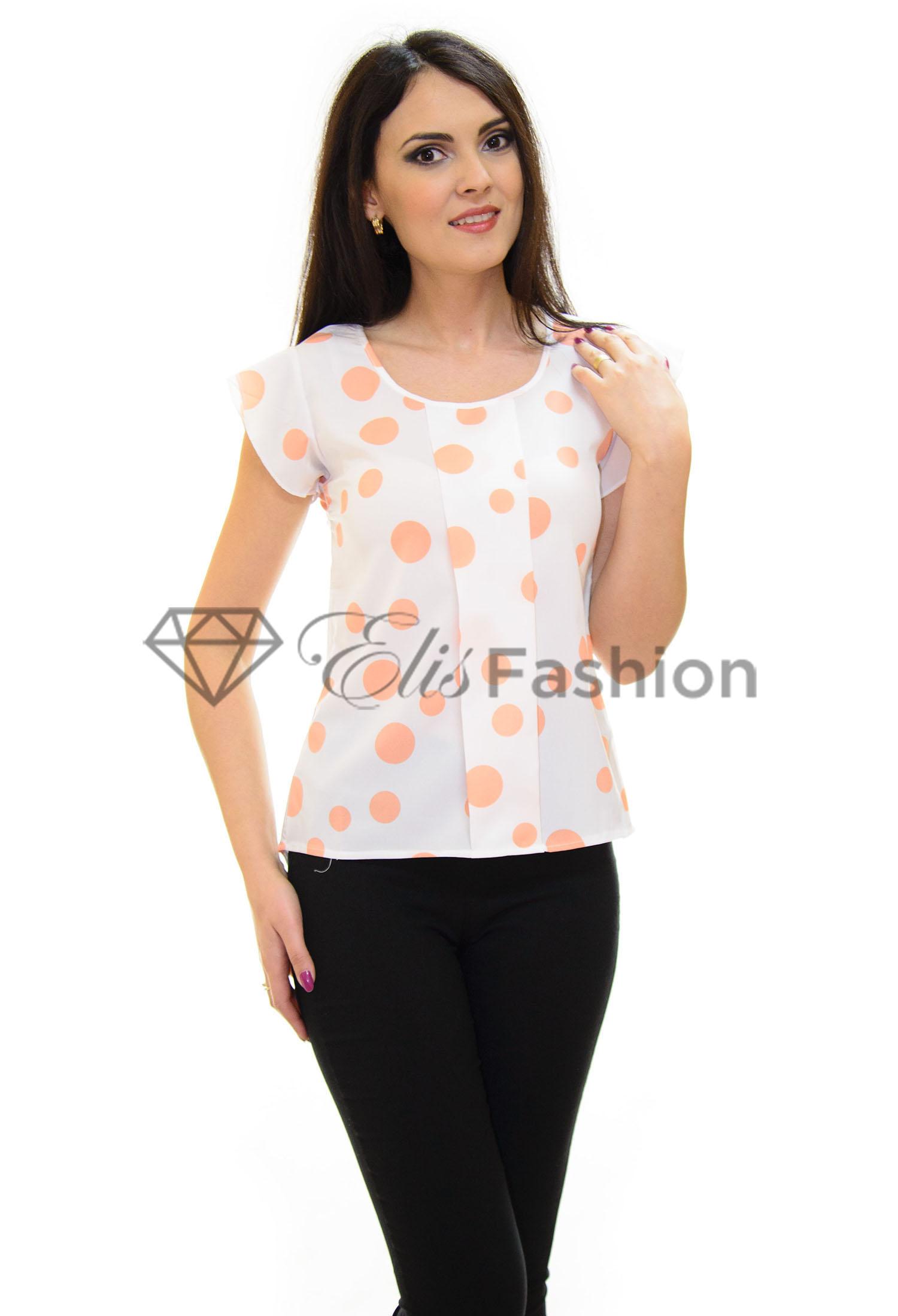 Bluza Delicate Bubbles Orange