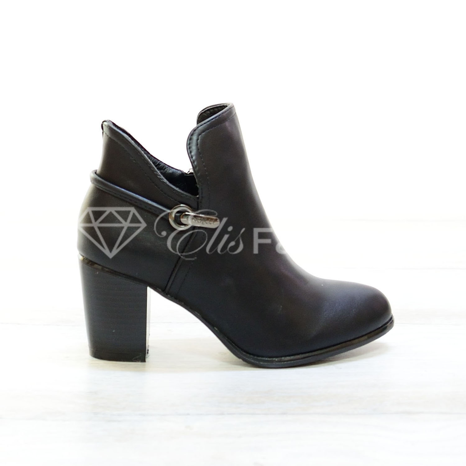 Botine Chic Black #2710