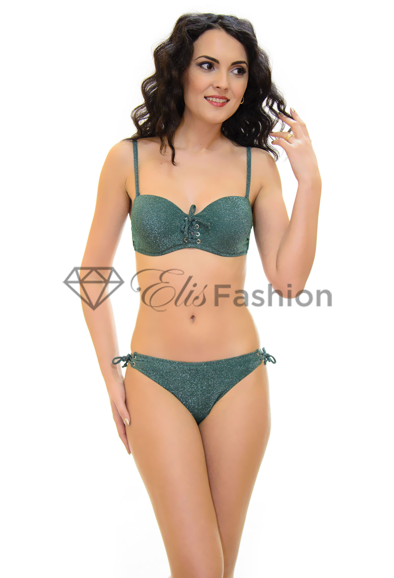 Costum de Baie Elite Green