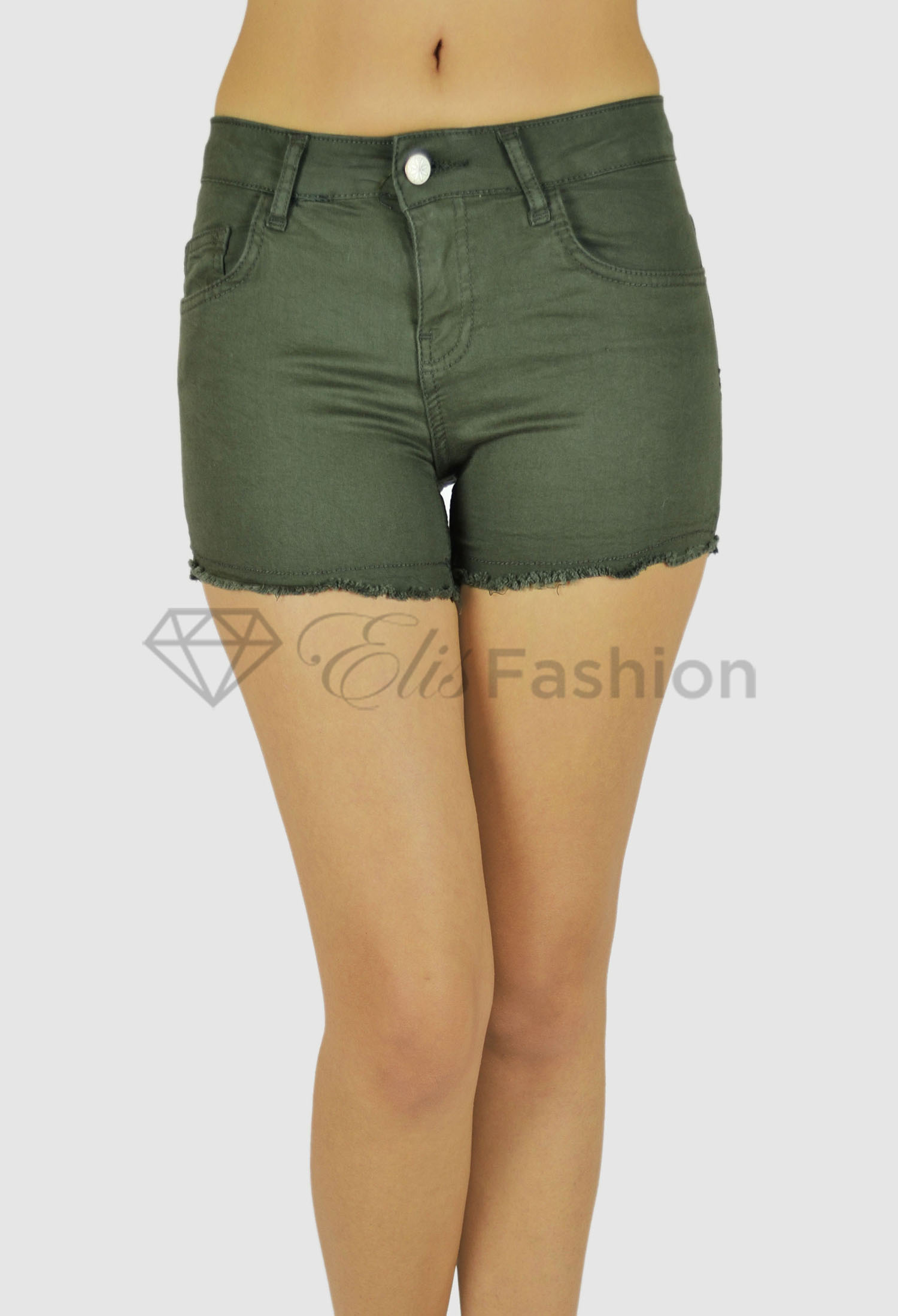 Pantaloni Scurti Olive Pleasure