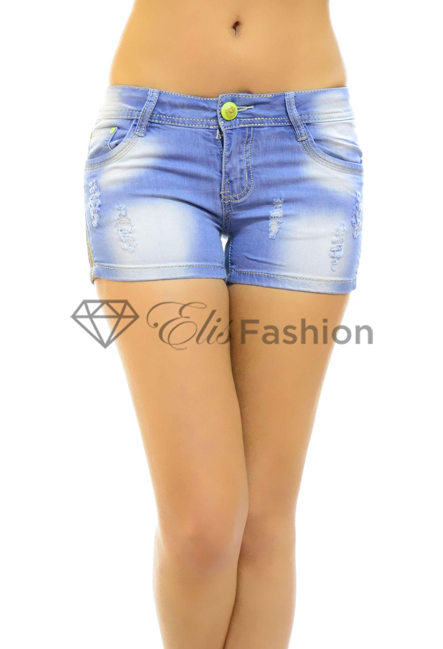 Pantaloni Scurti In Time Blue