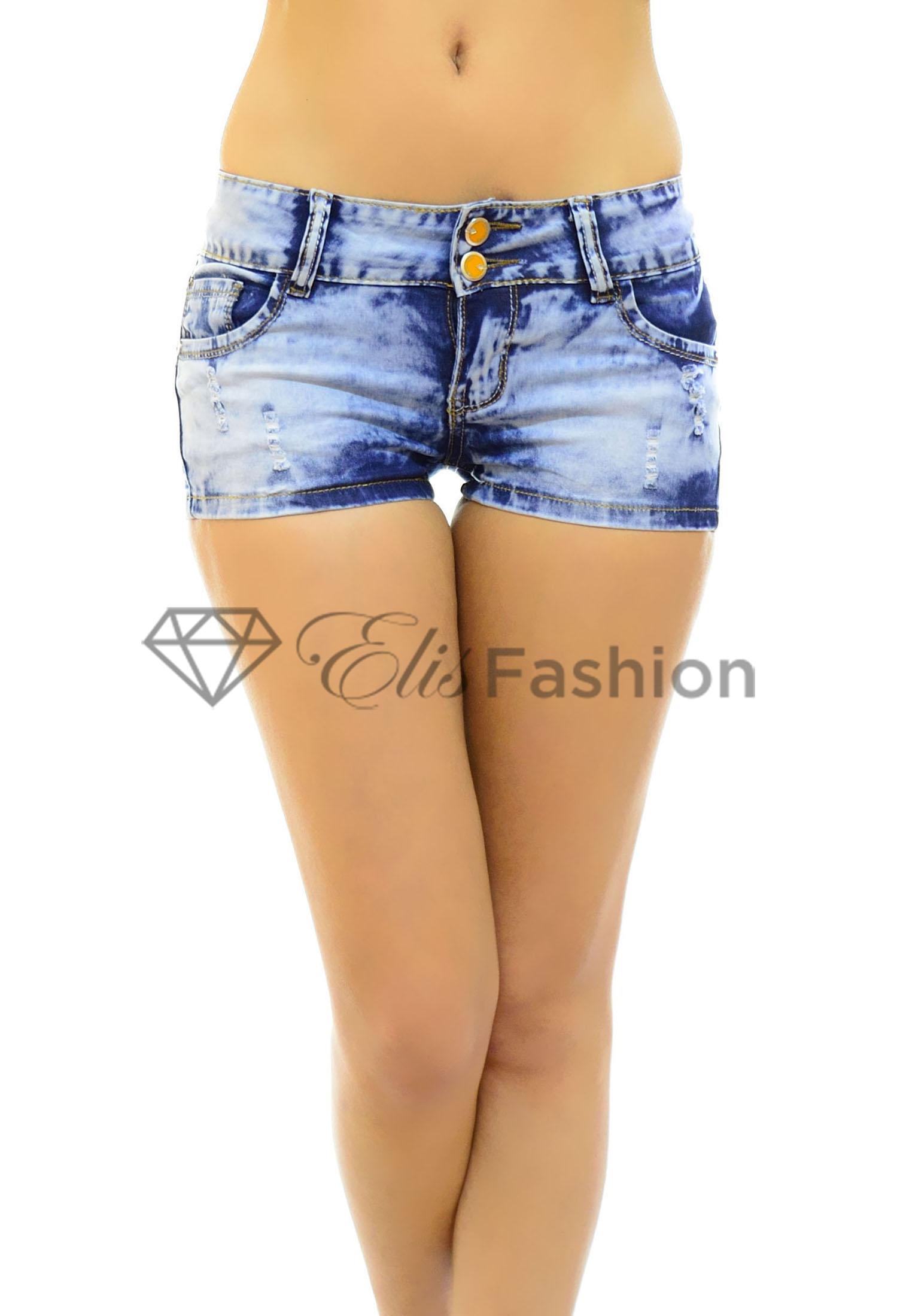 Pantaloni Scurti Jeans Affection
