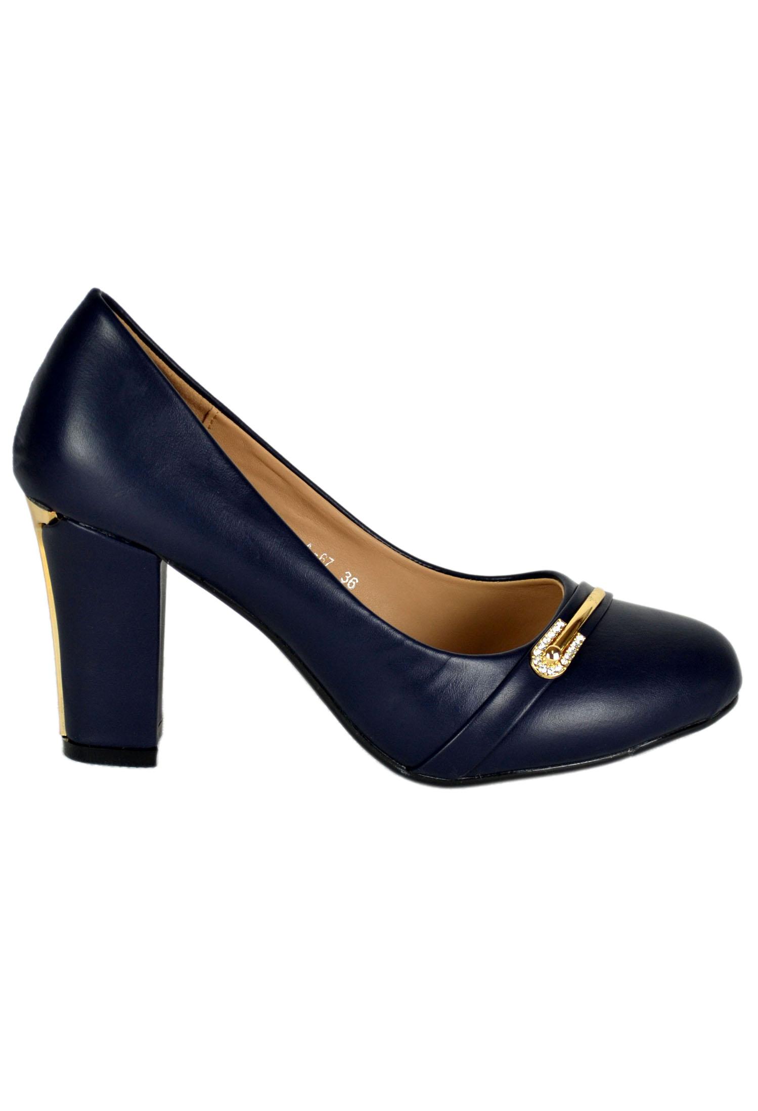 Pantofi DarkBlue #1303