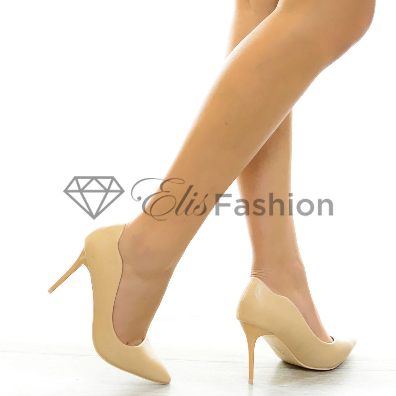 Pantofi Curly Beige #6308