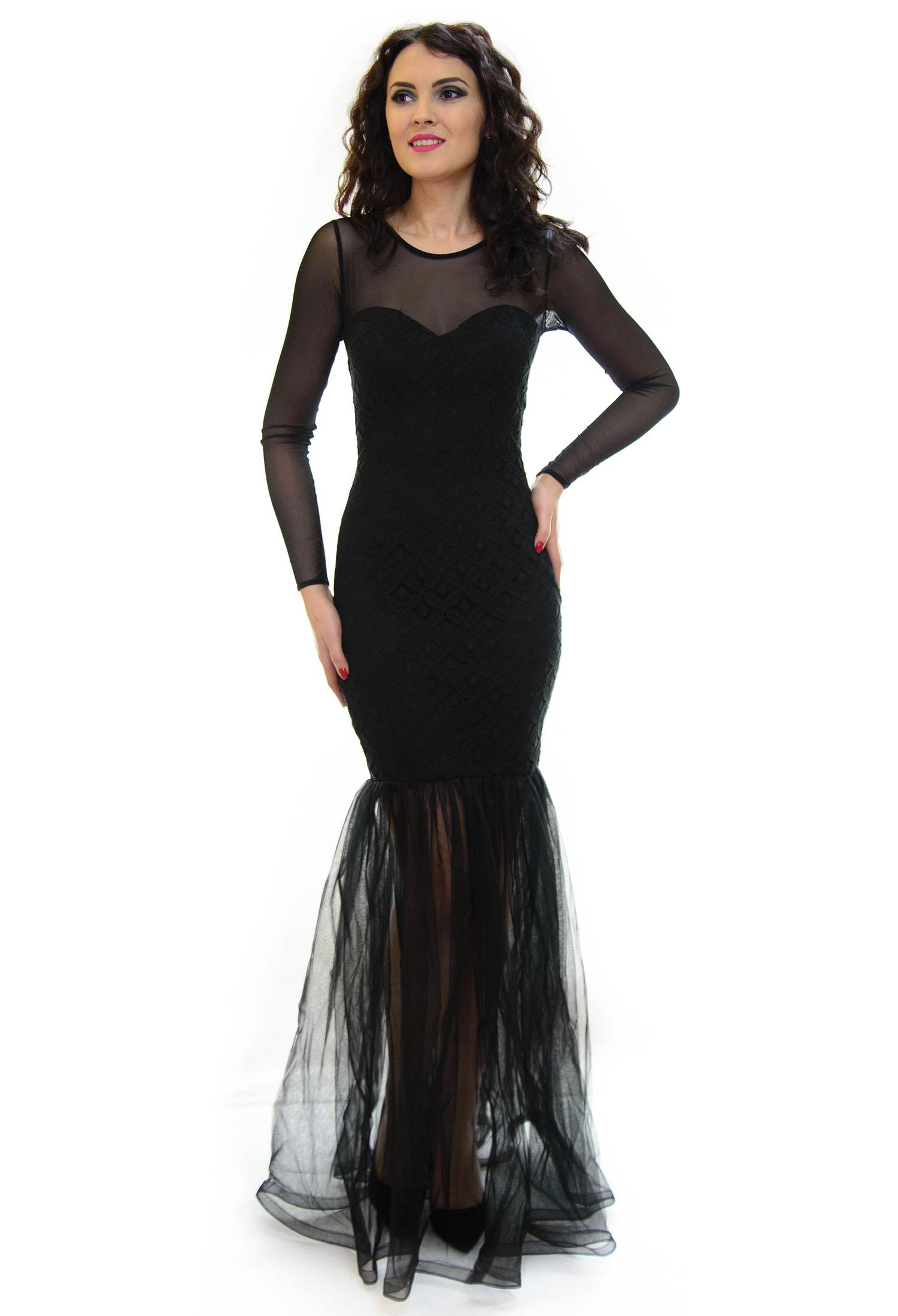 Rochie Sweet Mermaid Black