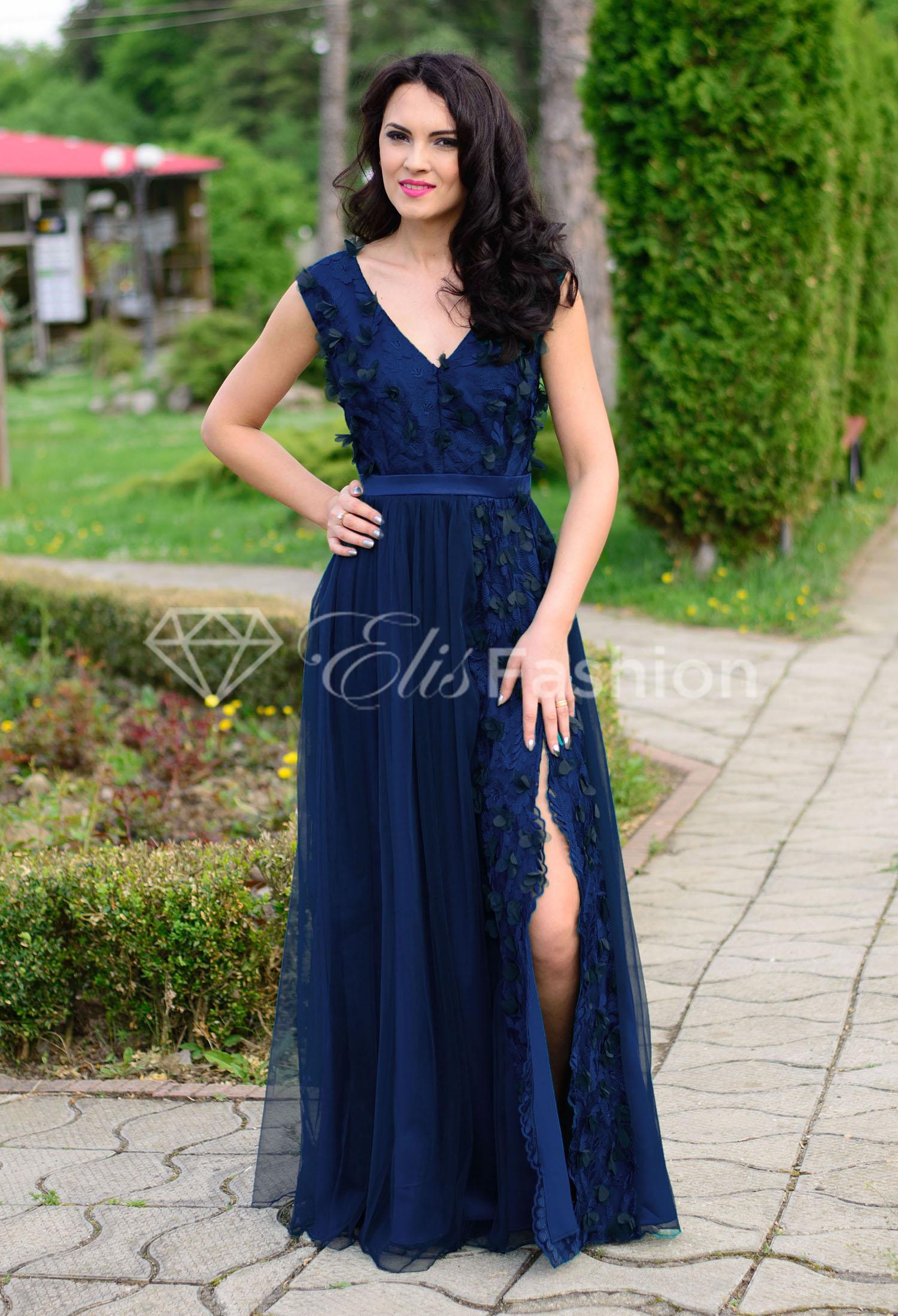 Rochie Ella Collection Princess DarkBlue