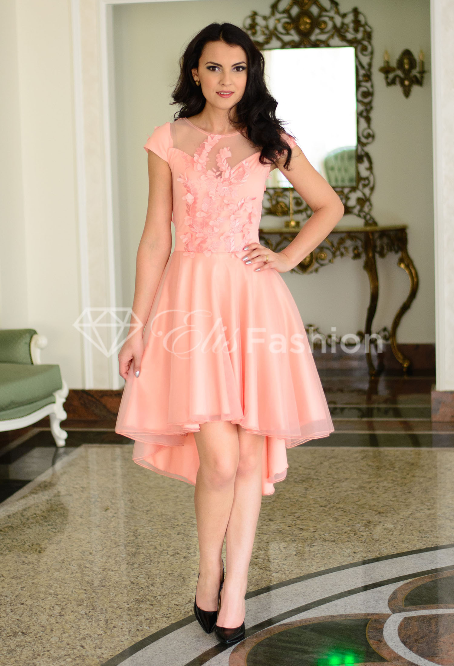 Rochie Ella Collection Marvelous Flat Pink