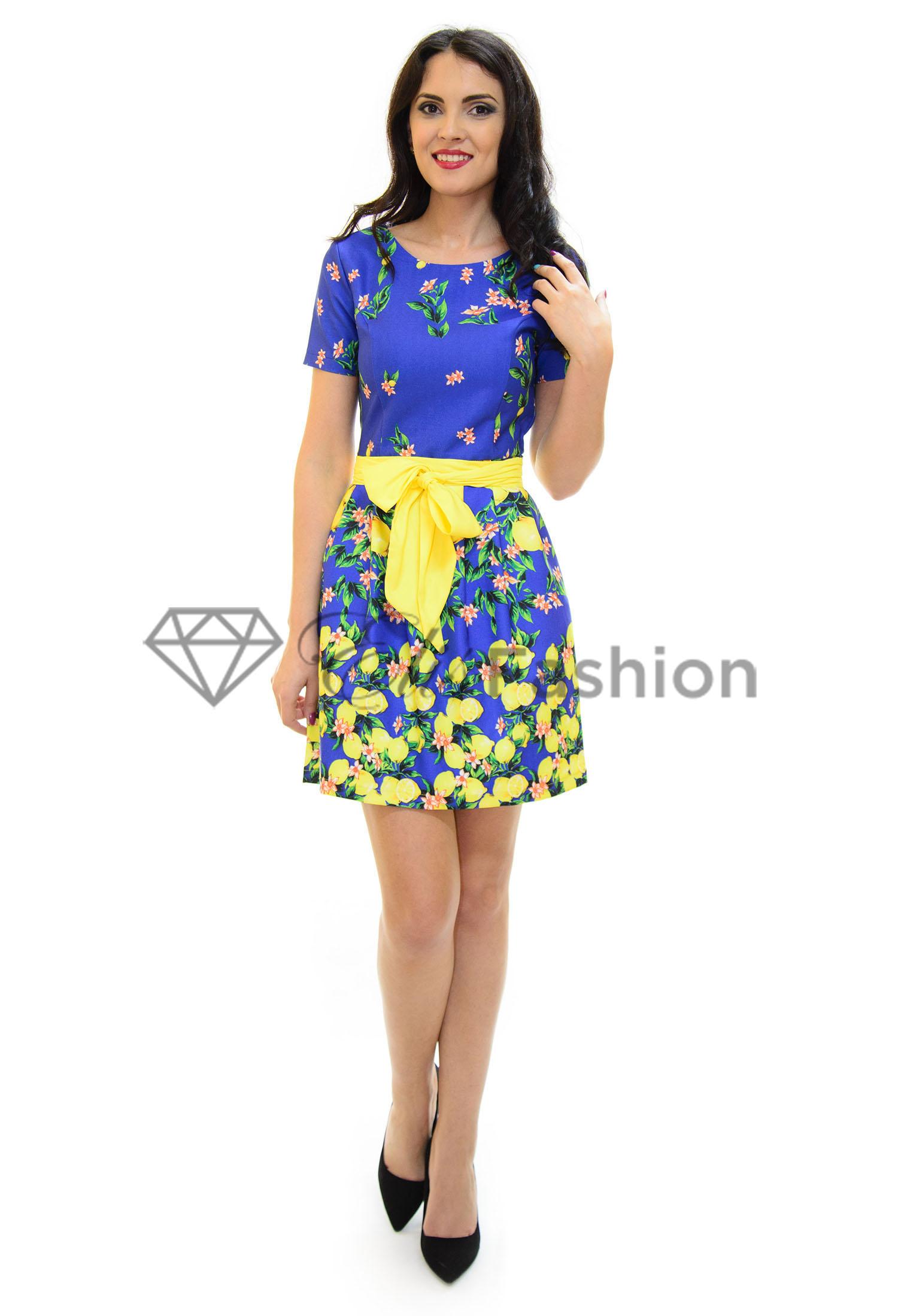 Rochie Lemon Blue