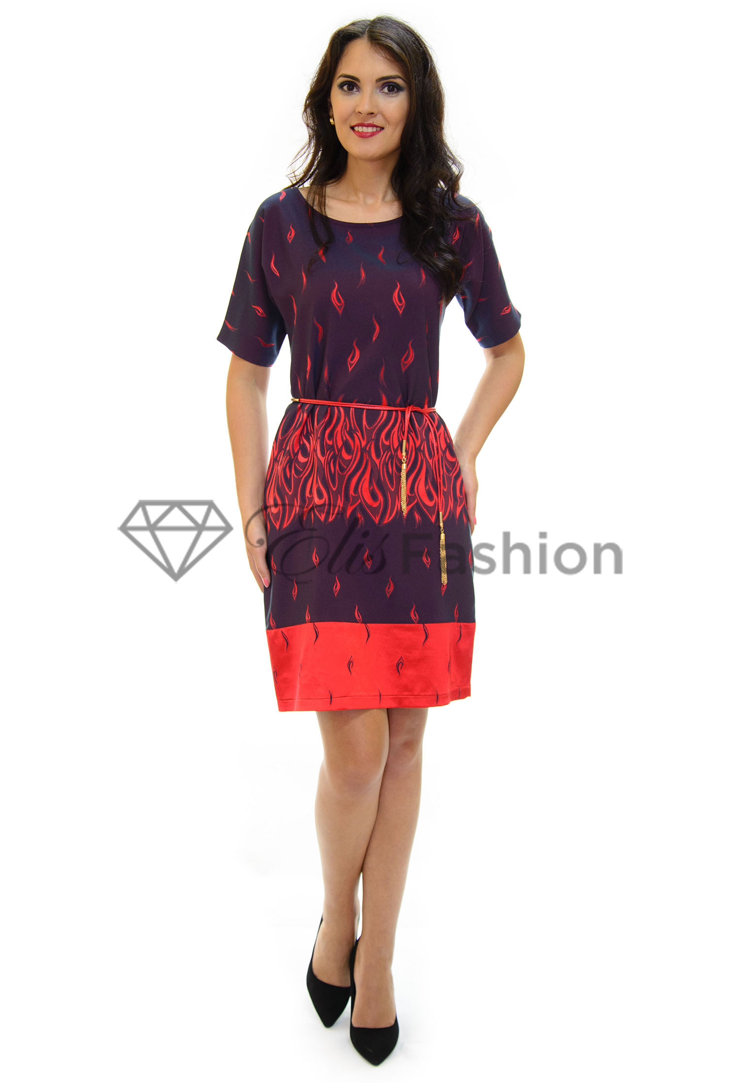 Rochie Dive In Flames