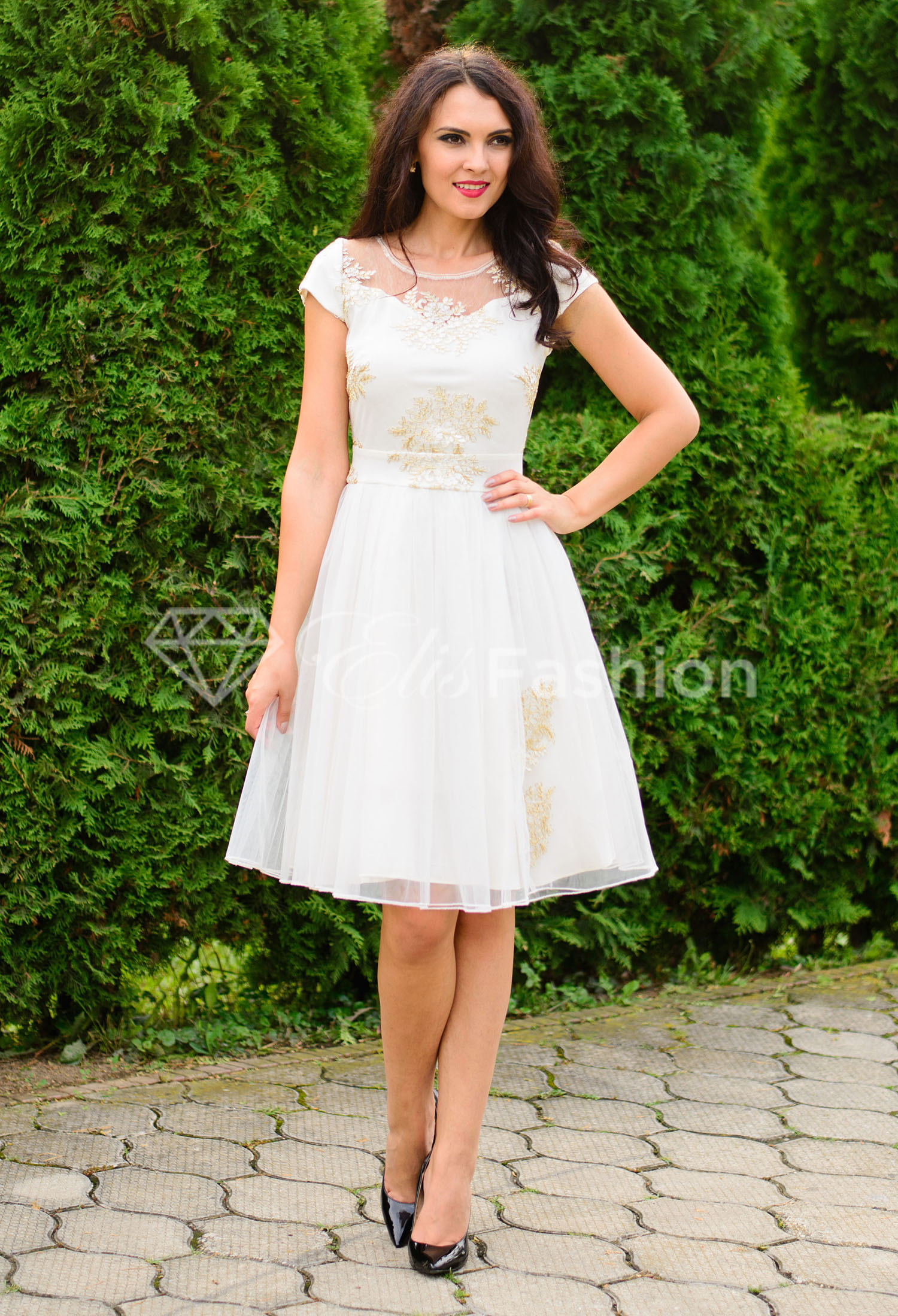Rochie Ella Collection White Gown