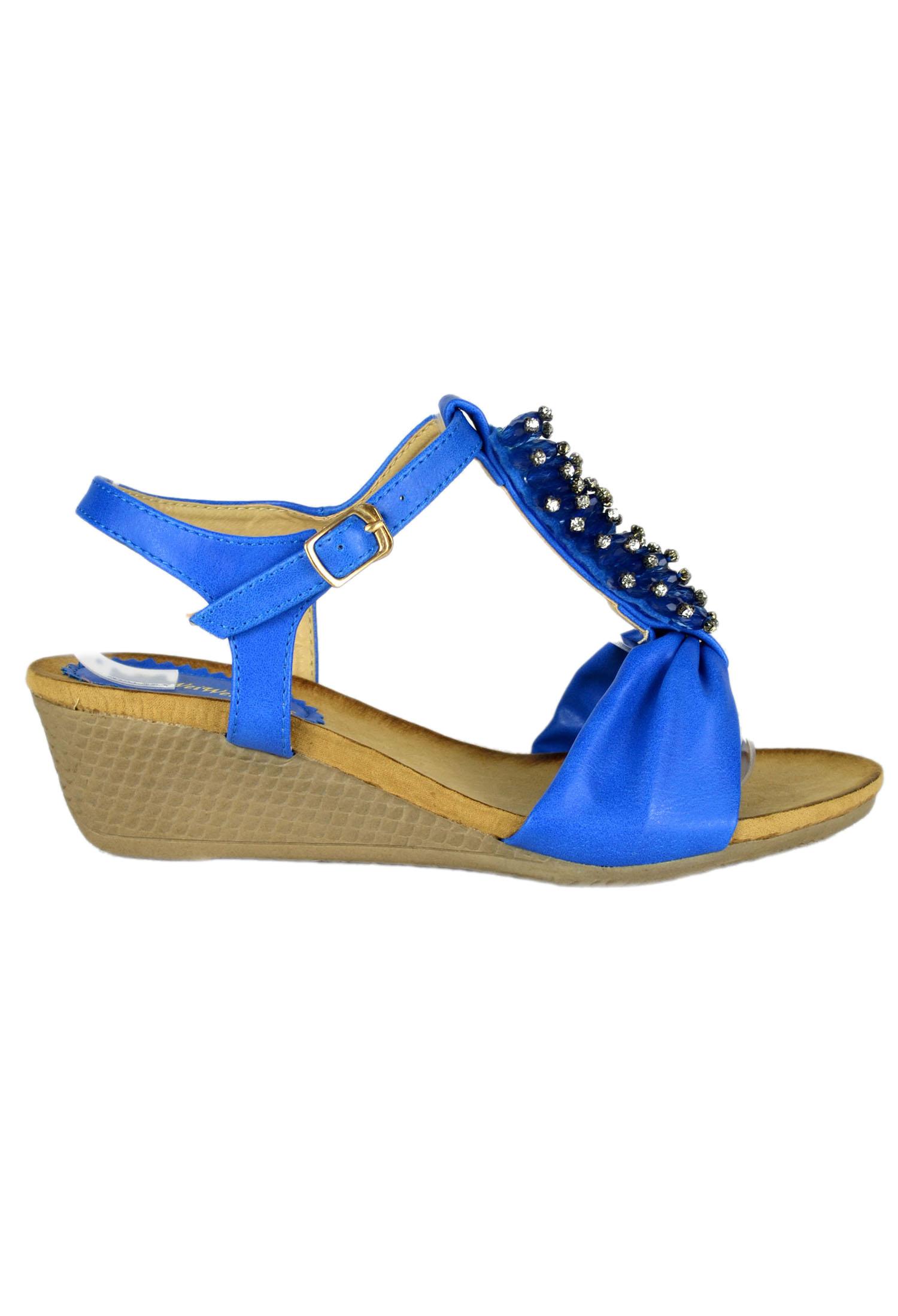 Sandale Blue Sparkle #1592
