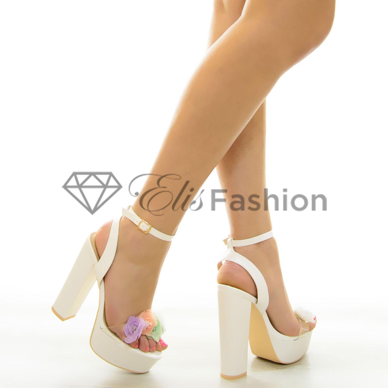 Sandale Best Aspect White #7070