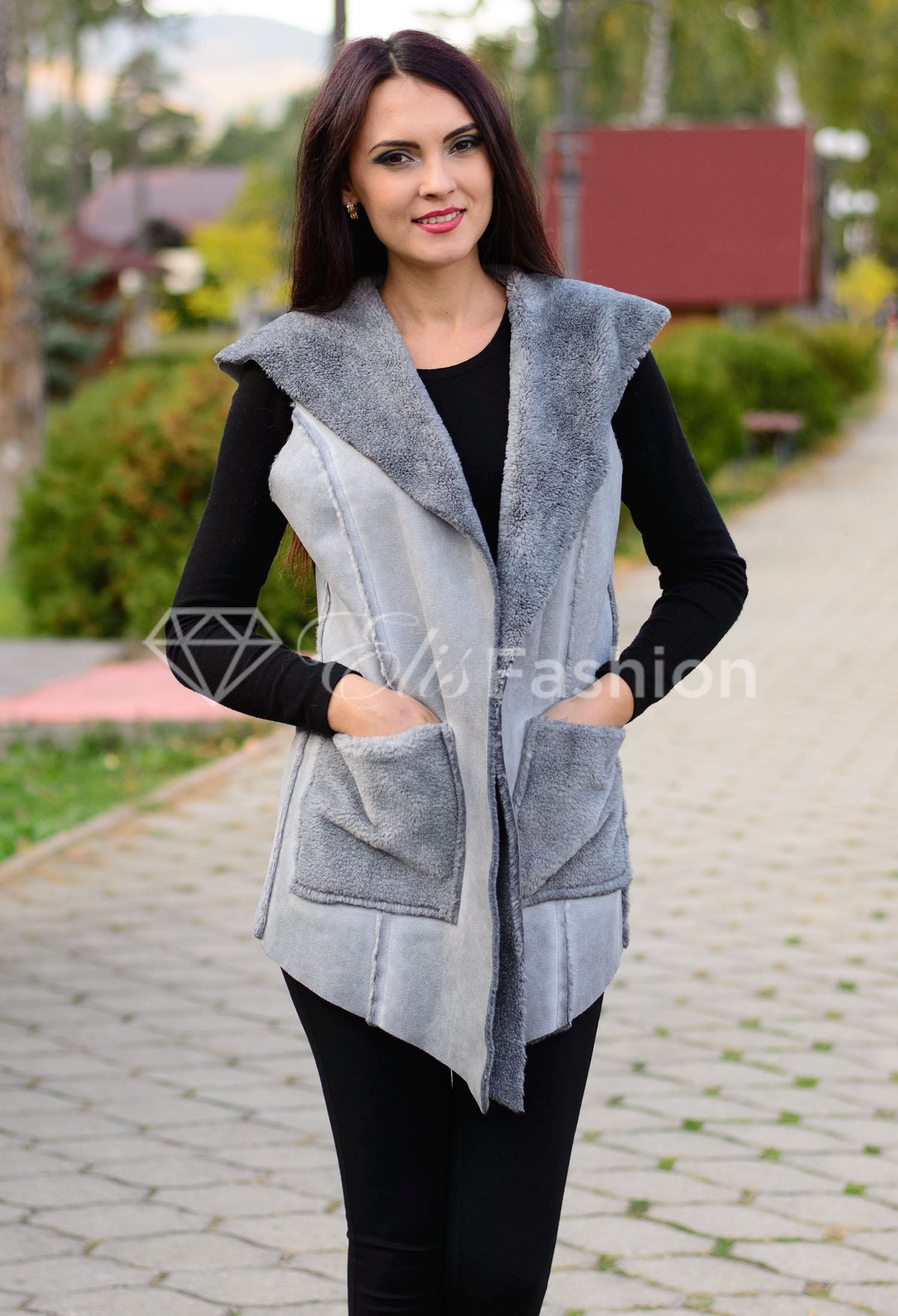 Vesta Fluffy Move Grey