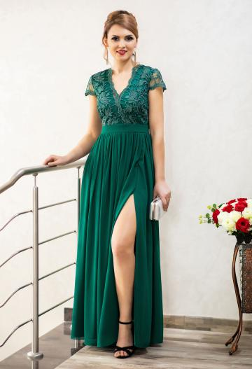 Rochie Ella Collection Daring Truth Green