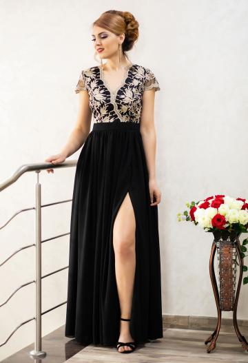 Rochie Ella Collection Daring Truth Black