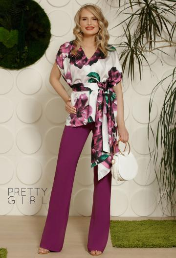 Pantaloni Pretty Girl Special Treat Purple