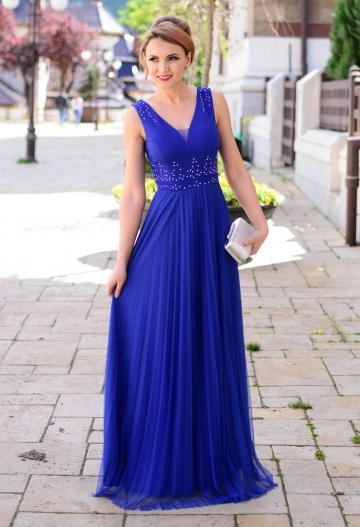 Rochie More Of It Royal Blue