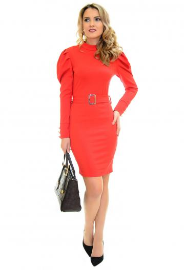 Rochie Moving Top Red