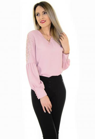 Bluza Memorable Sleeve Pink