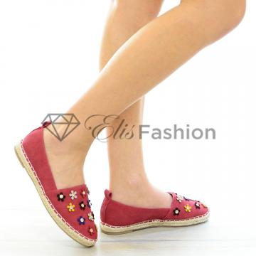 Espadrile Melted Red #4145